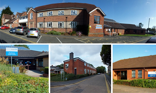 Compilation photo of several building improvement schemes Norfolk